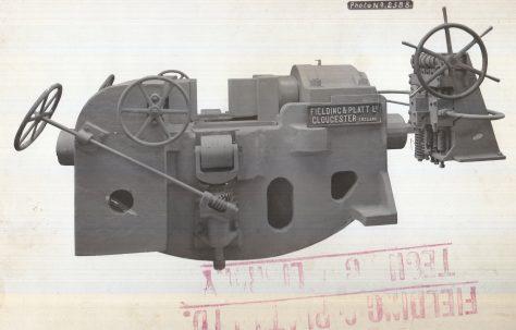 500 ton Gun Straightener, c.1918