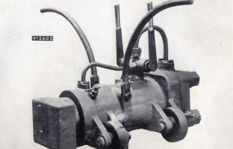 20 Ton Portable Frame Setting Press, c.1918