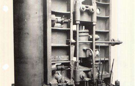725 ton Plate Bender, c.1919