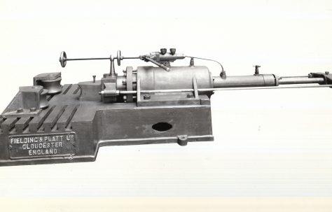 30 ton Pipe Bender, bollard type, c.1924
