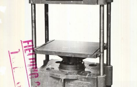 100 ton Hydraulic Press for making cider, c.1924