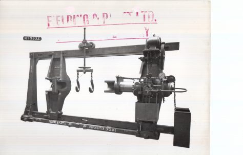 300 ton Wheel Press, c.1927