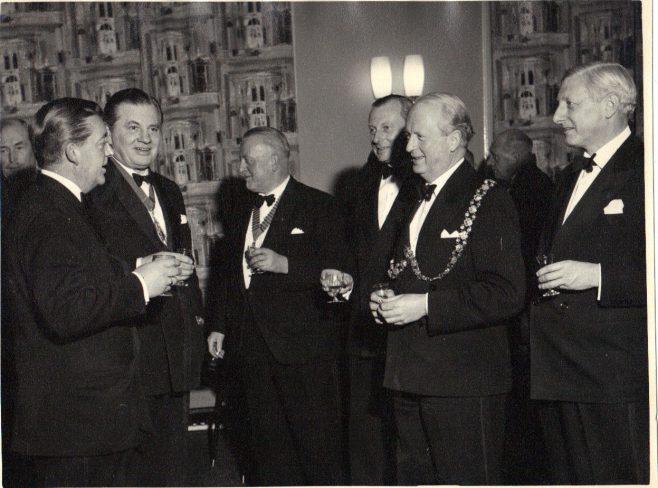 F James Fielding, second from left. | Andrew J.L Fielding.