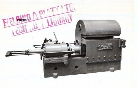 275 ton Plate Edge Bender, c.1929