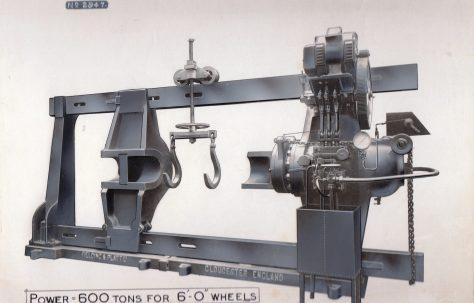 600 ton Wheel Press, c.1927
