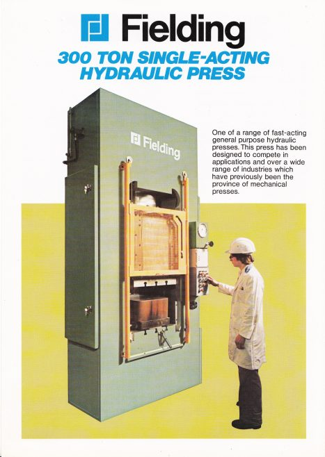 300 ton Single-Acting Hydraulic Press_01 | Gloucestershire Archives and John Bancroft copy