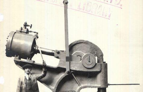 150 ton Pneumatic Rivetter, O/No. 6731, c.1931