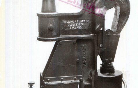 20 ton Pneumatic Rivetter, O/No. 6877, c.1933