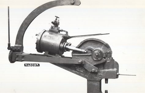 70 ton Pneumatic Rivetter with Compound Hanger, O/No. 7092, c.1934
