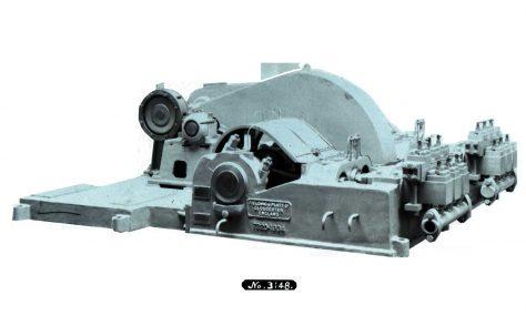 Six-Throw M D Hydraulic Pump, O/No. 7220, c.1934