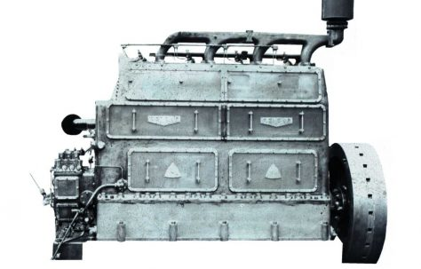 120 BHP 4 cyl. Vertical Oil Engine, c.1935