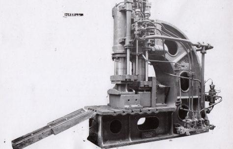 200 ton Progressive Flanging Press, O/No. 8119, c.1937