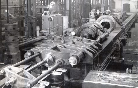 250 ton Stretching and Detwisting Machine, O/No. 8213, c.1939
