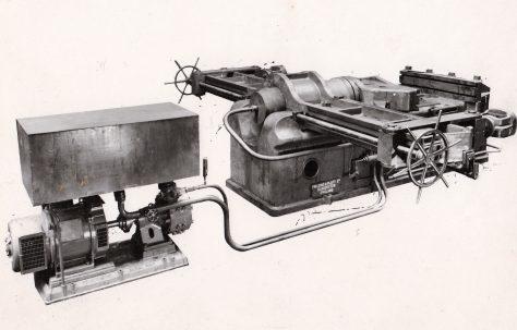 250 ton Bender with 50 ton Stretcher, O/No. 8304, c.1938