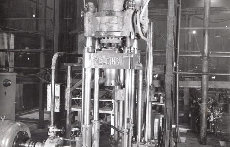 70 ton Tapering Press, O/No. 8581, c.1939