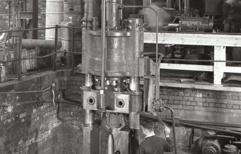 250 Ton Nosing Press, O/No. 8633, c.1939