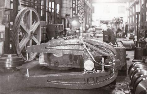 15 ton D.A. Rivetter, O/No. 8888, c.1940
