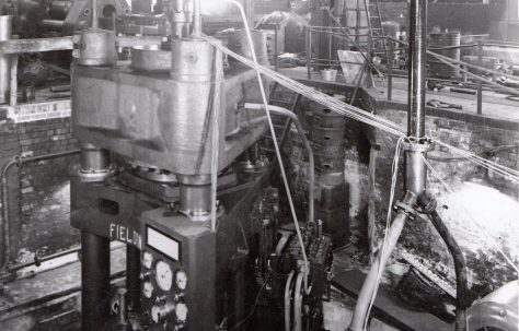 1500 ton Heading Press, O/No. 8723, c.1939