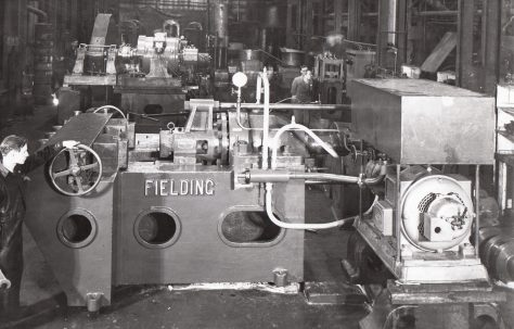 450 ton Bar Straightening Machine, views taken on test and on site, O/No. 8898, c.1940