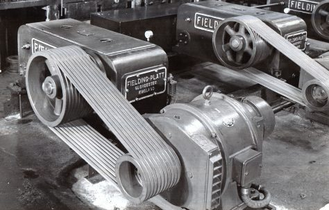 Three-sets of H3 Pumps with Tex-Rope drives, c.1941