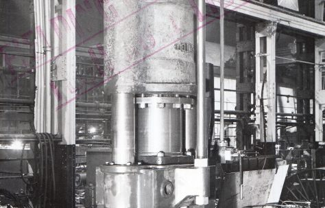 250 ton Shell Nosing Press, O/No. 9319, c.1941
