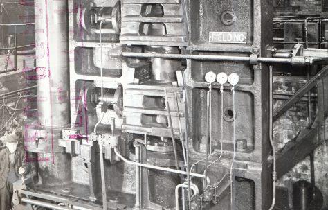 1000 ton Vertical Plate Straightener, O/No. 9273, c.1941