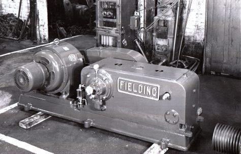 H3 Hydraulic Pump with chain drive, O/No. 9538, c.1941