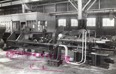 100 ton Reducing Press, O/No. 9406, c.1941