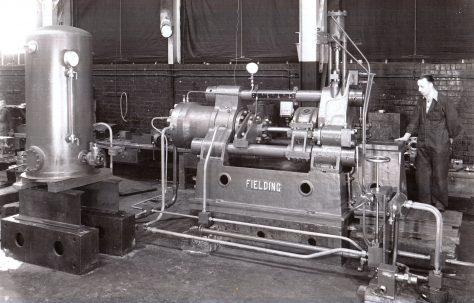 400 ton Horizontal Extrusion Press, O/No. 9374, c.1941