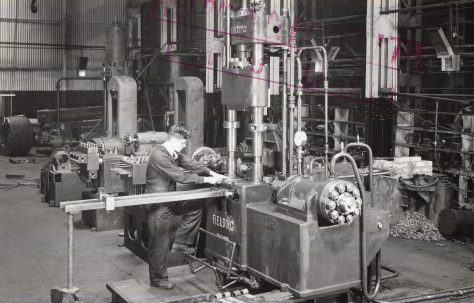 Eye Rolling Machine, views taken during erection and on site in 1942, O/No. 9285, c.1941
