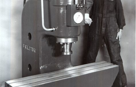 40 ton Hydraulic Straightening Press, c.1941