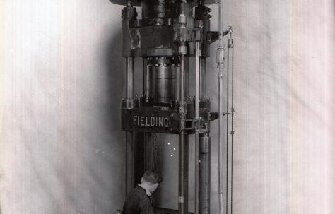 50 ton Drawing Press, O/No. 9500, c.1941