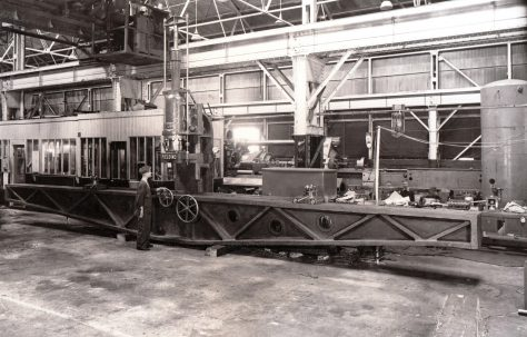 120 ton Bar Straightener, O/No. 9624, c.1941