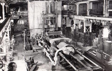 1425 ton Carbon Extrusion Press, O/No. 9439, c.1941