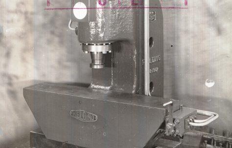 40 ton Open Gap Straightening Press, c.1941