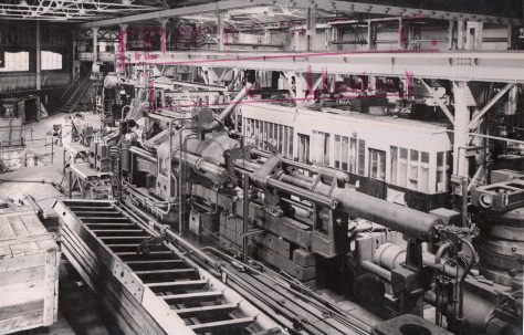 1500/1700 ton Horizontal Tube Extrusion Presses for direct & indirect processes, O/No. 4080, c.1943