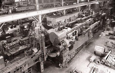 3000/3500 ton Horizontal Tube Extrusion Press, O/No. 4082, c.1942