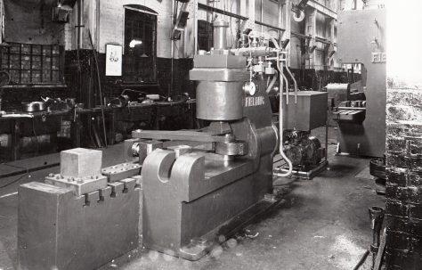 50 ton Spring Buckle Press, O/No. 4337, c.1943