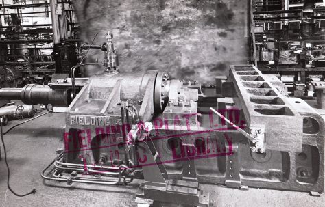 1000 ton Gun Straightener, O/No. 4191, c.1942