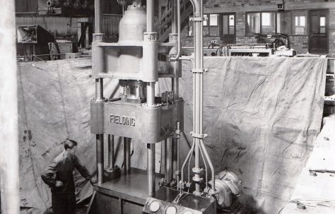 250 ton Four Column Press, O/No. 4278, c.1942