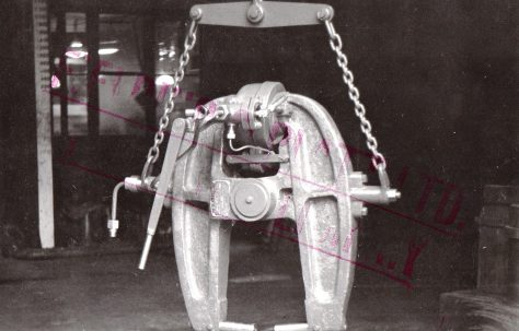 20 ton Portable Rivetter, Hinged Type, with Compound Hanger, O/No. 4523, c.1943