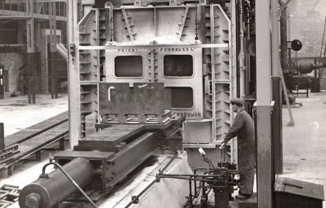 Furnace Pusher Gear on a 'Priest' Furnace, views taken on site, O/No. 4496, c.1943