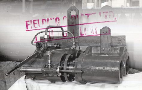 50 ton Wheel Forcing Press, O/No. 4727, c.1944