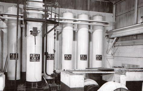 400 gal Air Hydraulic Accumulator  (No. 1 Main Works), O/No. 8620, c.1939