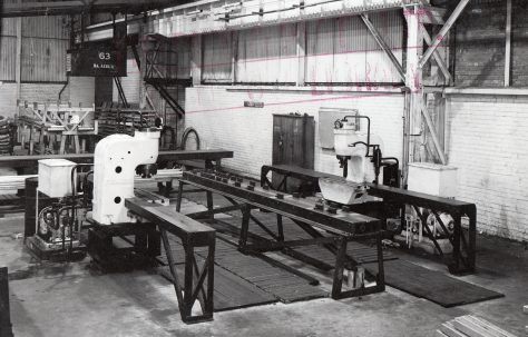34 ton Straightening Presses, O/No. 4198, c.1942
