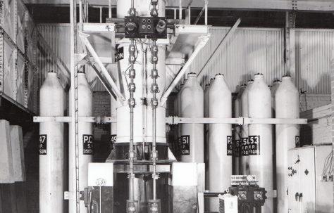 370 gal Air Hydraulic Accumulator  (No. 2 West Works), O/No. 8682, c.1939
