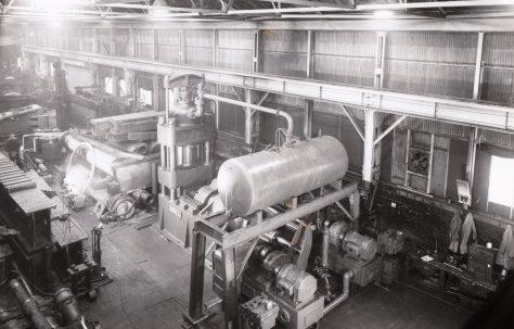 1000 ton Upsetting Press, O/No. 4515, c.1944