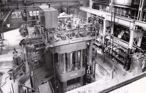 1500 ton Four Column Forging Press, O/No. 4477, c.1943