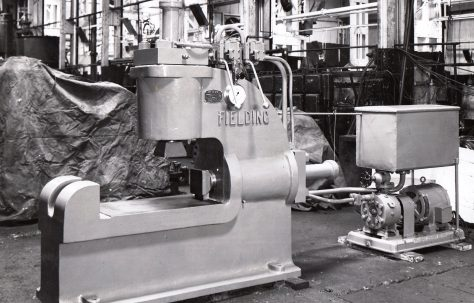 50 ton Spring Buckle Press, O/No. 4923, c.1944