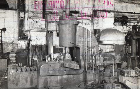 50 ton Hydraulic Buckle Press, Open Gap Type, O/No. 4427, c.1943